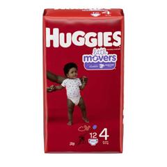 MON10513190 - Kimberly Clark ProfessionalHuggies® Ultratrim™ Diapers, Size 4, 108/CS