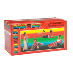 MON770497EA - Fabrication Enterprises - Exercise Band CanDo® Low Powder Red 6 Yard Light Resistance