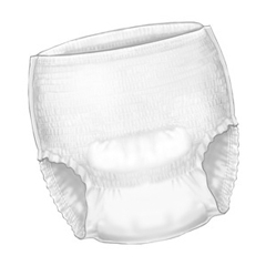MON10653100 - Cardinal Health - Sure Care™ Plus Protective Underwear - Medium, 100/CS