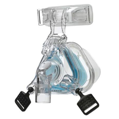 MON10726400 - RespironicsCush F/Cpap Mask Blu MED EA