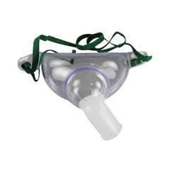MON10753950 - CarefusionOxygen Mask AirLife Tracheostomy One Size Fits Most Adjustable Neck Strap