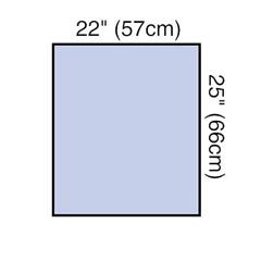 MON10891100 - 3MSteri-Drape™ Utility Sheet, Absorbent Prevention Fabric