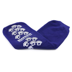 MON10991248 - McKessonSlipper Socks Bariatric, Extra Wide Royal Blue Above the Ankle