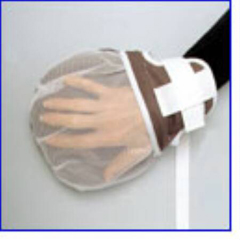 MON10993000 - Skil-CareHand Control Mitt Padded-Plus One Size Fits Most Tie Strap 1-Strap