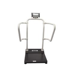 MON11013700 - Health O MeterPlatform Scale Health O Meter® Digital, LCD 1,000 lbs (454 kg). Battery or 120 VAC Adapter