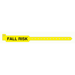 MON11033200 - Precision Dynamic - Patient Identification Band Sentry® Superband® Alert Bands® Snap Closure Fall Risk, 500EA/BX