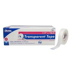 MON11042200 - Dukal - Dukal™Transparent Medical Tape (T110), 12RL/BX