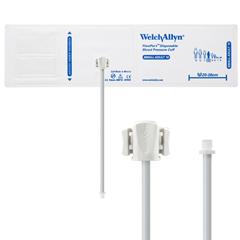 MON11132500 - Welch-AllynCuff, 1 Tube Bladder Flexiport Small Adult Size 10 Soft Fabric