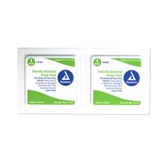 MON11162700 - DynarexAlcohol Prep Pad 70% isopropyl alcohol Large Sterile