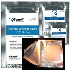 MON11202100 - GentellDrsg Hydrogel 2X2 12Ply 20EA/BX 6BX/CS