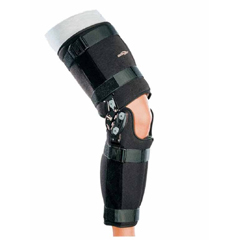 MON11293000 - DJO - Knee Brace DonJoy Rehab TROM Medium 18 to 22 Circumference 17 Length