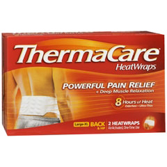 MON11362700 - Wyeth PharmaceuticalsHeat Wrap ThermaCare® Chemical Activation Back / Hip Large / X-Large, 2EA/BX