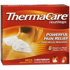 MON11372700 - Wyeth PharmaceuticalsHeat Wrap ThermaCare® Chemical Activation Neck / Shoulder / Arm, 3EA/BX