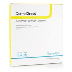 MON946681BX - Dermarite - DermaDress™ Waterproof Composite Dressing (12414), 10/BX