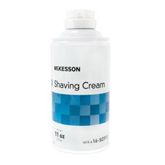 MON11611700 - McKessonShaving Cream 11 oz. Aerosol Can