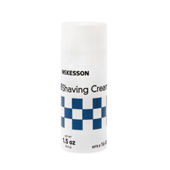 MON11651702 - McKessonShaving Cream 1.5 oz. Aerosol Can