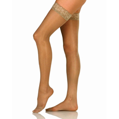 MON11720300 - JobstCompression Stockings Thigh-high Small Silky Beige Closed Toe