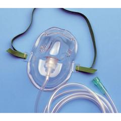MON12003950 - CarefusionOxygen Mask AirLife Under the Chin Medium Adjustable Elastic Head Strap