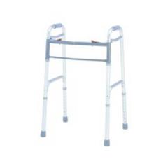 MON12043800 - Merits HealthFolding Walker Adjustable Height Aluminum 300 lbs., 4EA/CS