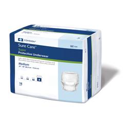 MON12053100 - MedtronicSure Care™ Super Protective Underwear - Medium, 72/CS