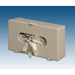 MON12101300 - Plasti-ProductsGlove Box Dispenser Horizontal or Vertical Mount 1-Box Beige 4 X 7 X 11-3/4 Inch Plastic