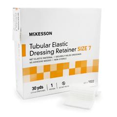 MON12202000 - McKessonRetainer Dressing Tubular Elastic Dressing Elastic Net 30 Yards Size 7