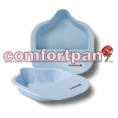 MON12292910 - Church ProductsBed Pan Comfortpan® Blue 2 Quarts