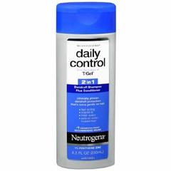 MON12351800 - Johnson & JohnsonDandruff Shampoo Plus Conditioner Neutrogena®Daily Control 2 in 1 8.5 oz. Fresh Scent Flip Top Bottle