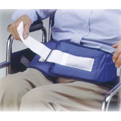 MON12503000 - Skil-Care - Chair Waist Belt Restraint One Size Fits Most Hook and Loop Closure 2-Strap