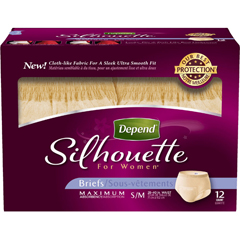 MON12763100 - Kimberly Clark ProfessionalDepend® Silhouette® Briefs for Women