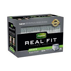 MON12773100 - Kimberly Clark ProfessionalDepend&reg Real Fit® Briefs for Men