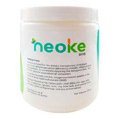 MON1128285EA - Solace Nutrition - Oral Supplement neoKe BHB Vanilla Flavor 235 Gram Powder, 1/ EA