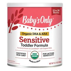 MON12932601 - Nature's One Inc.Pediatric Oral Supplement Babys Only Organic LactoRelief 80 Calories Vanilla 360 gm