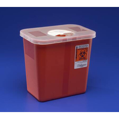 MON13082801 - MedtronicMulti-Purpose Container with Rotor Opening Lid, Clear, 2 Gallon