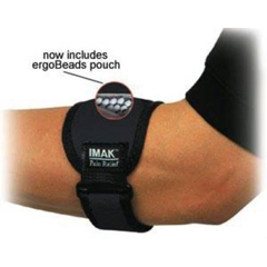 MON13103000 - Brown MedicalElbow Band IMAK RSI Universal Buckle and hook and loop strap Left or Right Arm