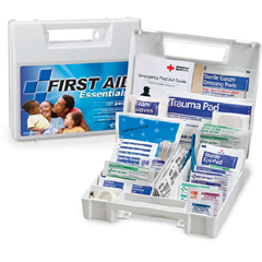 MON13132000 - First Aid OnlyFirst Aid Kit White Plastic Case