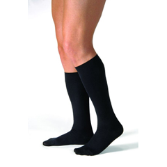 MON13180300 - BSN MedicalCompression Stockings Knee-high Large Black Closed Toe (113118)