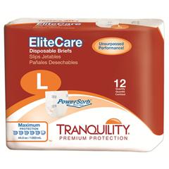 MON13243104 - PBETranquility® EliteCare™ Disposable Briefs