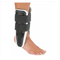 MON13273000 - DJOStirrup Ankle Support Excelerator Medium Hook and Loop Closure Left or Right Foot