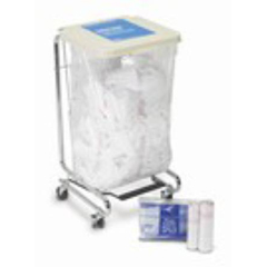 MON13412700 - Medical Action IndustriesLaundry Bag Water Soluble 20-25 Gallon 33 L X 26 W Inch, 25EA/PK 4PK/CS