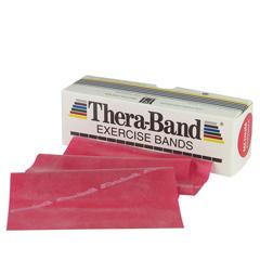 MON341346EA - Fabrication Enterprises - Exercise Band Thera-Band Red 6 Yard Light Resistance
