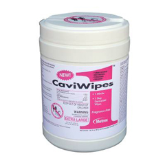 MON13511100 - Metrex ResearchAlcohol Surface Disinfectant CaviWipes1® Extra Large Wipe Pop-Up Disposable, 65EA/CN