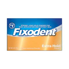 MON13511700 - Procter & GambleDenture Adhesive Fixodent® Extra Hold 1.6 oz. Powder