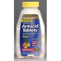 MON13652700 - Geiss, Destin & DunnAntacid / Calcium Supplement GoodSense 750 mg Strength Tablet 96 per Bottle