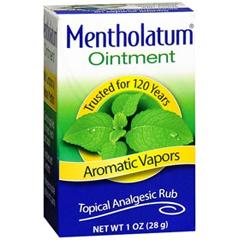 MON798029EA - Mentholatum Company - Pain Relief Mentholatum 9% / 3.1% Strength Ointment 1 oz.