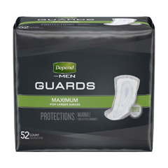 MON13793101 - Kimberly Clark ProfessionalDepend® 5.5 x 12 Guards for Men, 52/BG
