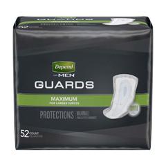 MON13793102 - Kimberly Clark ProfessionalDepend® 5.5 x 12 Guards for Men, 104/CS
