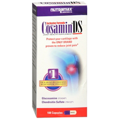 MON13842700 - Nutramax LabsJoint Health Supplement Cosamin®DS 500-400-16 mg Capsule 100 per Bottle