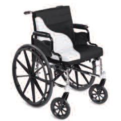 MON14004300 - Span America - Seat / Backrest Cushion Combination Short-Wave® 18 Inch Width Foam, 4EA/CS