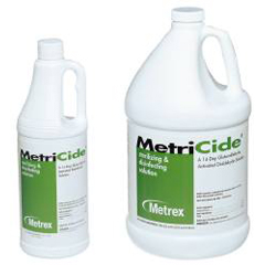 MON14014100 - Metrex ResearchInstrument Disinfectant / Sterilizer MetriCide® Liquid 1 Gallon, 4EA/CS